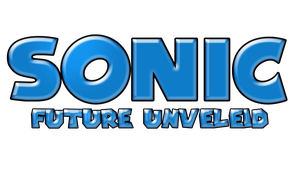 Sonic Future Unveiled Logo by KingAsylus91
