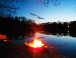 Fire By the Lake by AG88