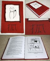 Kitsune Fox book by elvaniel