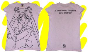 T-Shirt: Sailor Moon by ArtistMeli