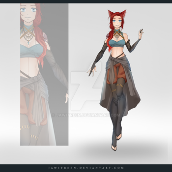 (CLOSED) Adoptable Outfit Auction 241 by JawitReen
