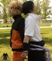 Me and you - SasuNaru cosplay by Hikuja