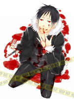 bloody izaya by nekoaru