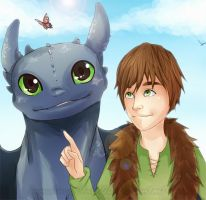 HTTYD by Immature-Child02