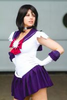 Cosplay Sailor Saturn from Sailor Moon by MahoCosplay