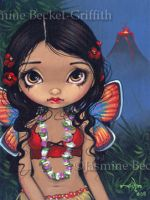 Hawaiian Volcano Fairy by jasminetoad