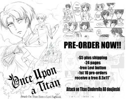 Once Upon A Titan Doujinshi PRE-ORDERS OPEN!!! by Mireielle