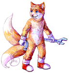 Tails - Miles Prower by Xhiara