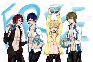 Free! Wallpaper by dreaminginlove