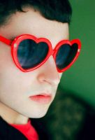 Heart-Shaped Glasses by predicttheday