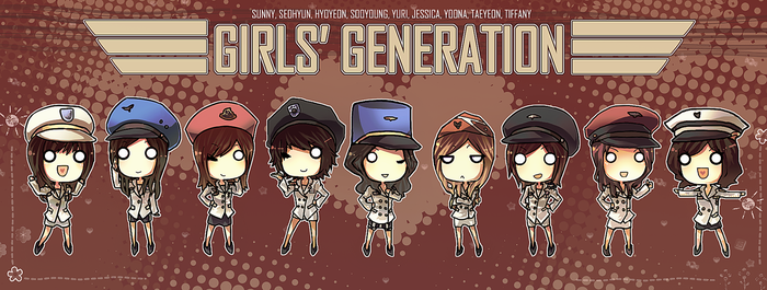 SNSD: 9Genies by jackettt