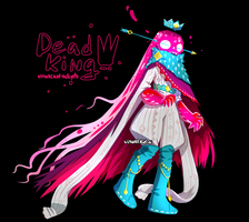 [CLOSED] Adopt auction - Dead King by visualkid-adopts
