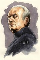 Palpatine Watercolour by Erik-Maell