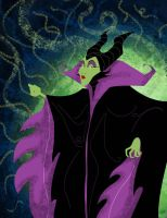 DSC_Maleficent Color WIP by DouggieDoo