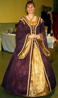 Tudor Gown 2 by Needle-art19