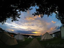 End of Castlefest by Arvensias