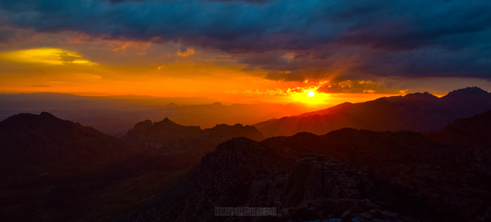 Mount Lemmon Sunset by alltheoriginalnames