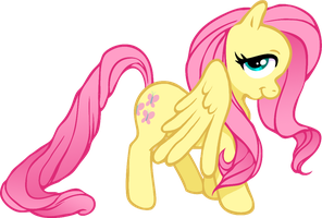 Fluttershy by LychiCambess