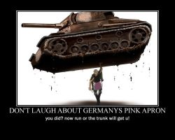Germany in a pink apron by purpLesBLACK