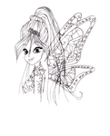 Winx Club Season 7 - Tynix Bloom (lineart) by xtessa1