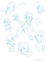 Jack Frost Sketch Dump by Ask-RotG