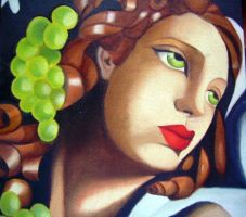 Homage to T. de Lempicka - The brilliance by LauraMel