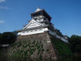 Kokura Castle 4 by SHiNiGAMi-Xiii
