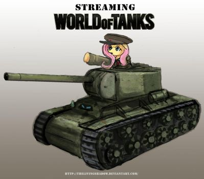 World of Tanks Streaming Pic COMMISSION by Playful-Absol