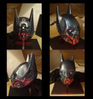 Final Batman Helmet Model by KangJason