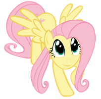 Fluttershy Vector by AncientKale