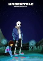 Shattered Realities (Undertale) - Ch.1 - Cover by Natassya13