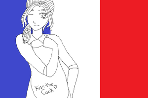 Hetalia: France by dobbyluv2