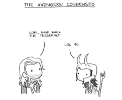 The Avengers: Condensed by musicalirony