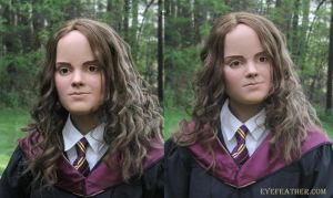 Hermione Mask on Me by eyefeather