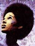 Afro painting by JoelKelly