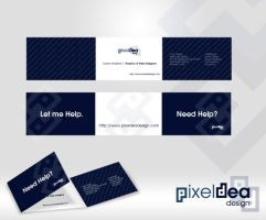 Pixeldea Design Business Cards by zedi0us