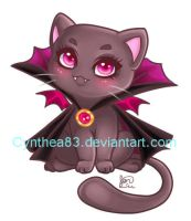 Vampire Kitty by Cynthea83
