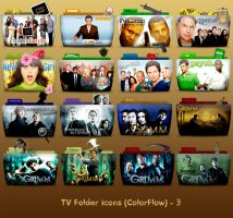 TV Folder Icons ColorFlow . Set 3 by ashtray4241