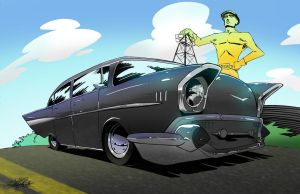 commission 57 bel air by zachraw