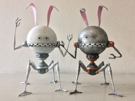 Da Metal Rabbot by e47art