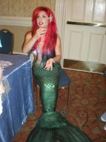 Traci Hines at Merpalooza by onelilmermaid
