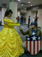 Cap's an old fashioned kind of guy. by Starkiller-Cosplay