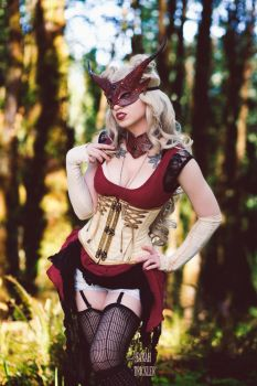 Masquerade in The Woods by Sarah-Trickler