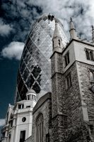 The Gherkin by thegreatmisto