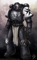 Black Templar - 40K Space Marine by MyNameIsByron