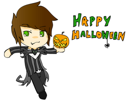 HALLOWEEN Chibi :3 by jordansweeto