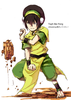 20121015-Toph by Shikaobing