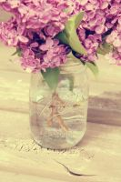 Lilacs in a Jar (3) by AwakeYourSoul