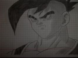 Uub(after buu fusions) by RaVjak20