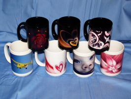 Mug Collection 1 by NatalieKelsey